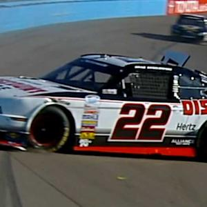 Brad Keselowski crash jeopardizes owners title