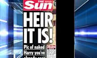 Printing Naked Harry Images 'Not Justified'