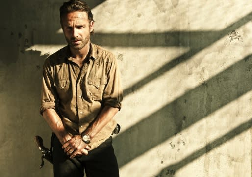 Eye on Emmy: Walking Dead's Andrew Lincoln Reveals How Snow Patrol Helped Him Mourn Lori, Explains Barring Sarah Wayne Callies from Set
