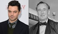 Dominic Cooper, Ian Fleming -- Getty Images