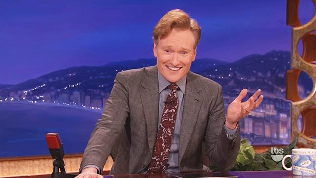 Conan's Multiple Gaffes During One Segment
