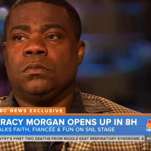 Tracy Morgan Couldn't Bear To Watch 'SNL' 40th Anniversary Special