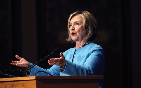 Hillary Clinton unveils new partnerships to close gender data gaps