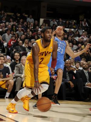 Irving's 35 pace Cavaliers over Thunder