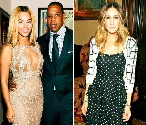 "Beyonce, Jay-Z ""Blew Off"" Oscars Night to Hang Out With Sarah Jessica Parker in New York City"