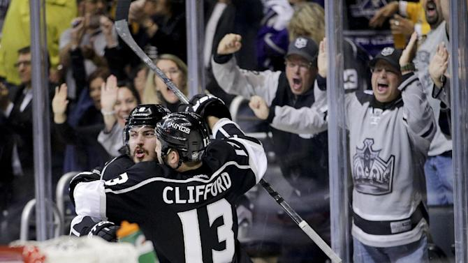 "LA Kings thriving in captain's ""zombie mode"""