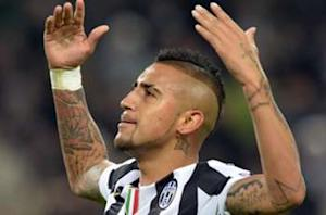 Vidal: I'm staying at Juventus to win the Champions League