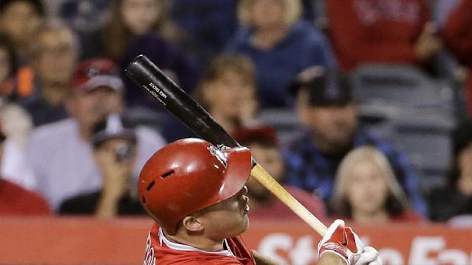 Freese get 4 RBIs in return as Angels beat Astros