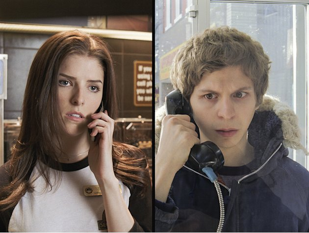 Scott Pilgrim vs the World 2010 Production Photos Universal Pictures Anna Kendrick Michael Cera
