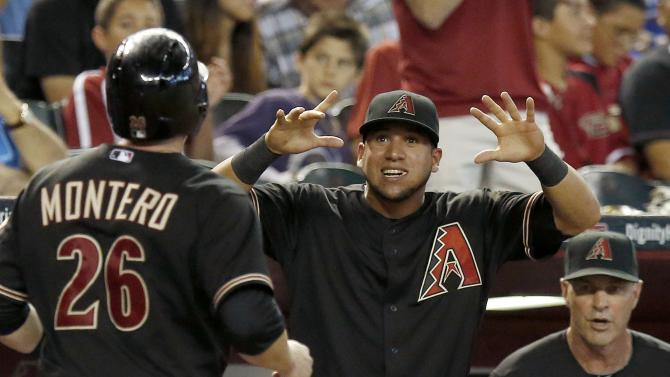 Montero, Goldschmidt power Diamondbacks over Cubs