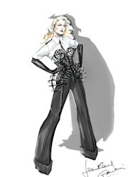 Jean Paul Gaultier's costume design for Madonna's MDNA tour