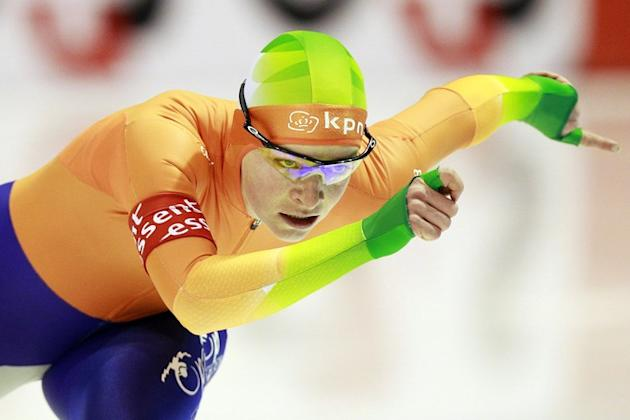 Netherland's Thijsje Oenema Competes AFP/Getty Images