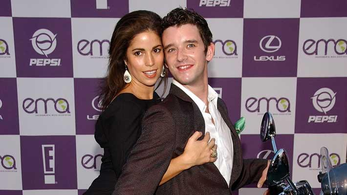 Ana Ortiz and Michael Urie arrive at the 17th Environmental Media Association Awards held at the Ebell Club.