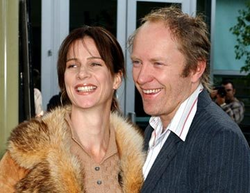 Rachel Griffiths and Andrew Taylor at the Hollywood premiere of Paramount Pictures' Lemony Snicket's A Series of Unfortunate Events