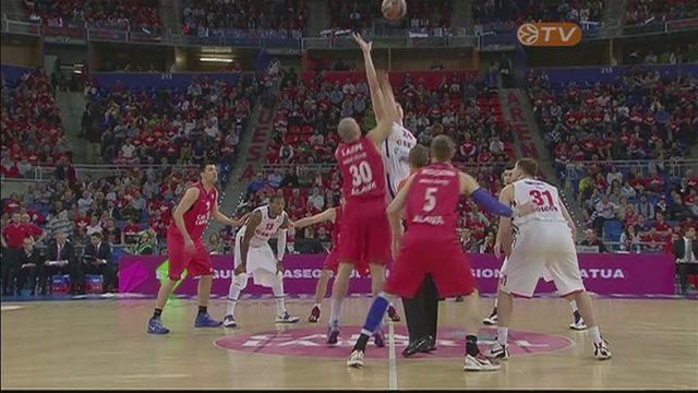 Caja Laboral Vitoria avoid elimination after thrashing CSKA Moscow