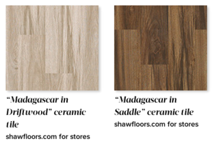 faux wood cermaic