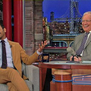 Aziz Ansari Blames Rupert Murdoch For Everything - David Letterman