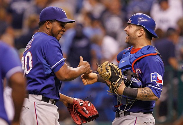 Texas Rangers v Tampa Bay Rays - Game 3