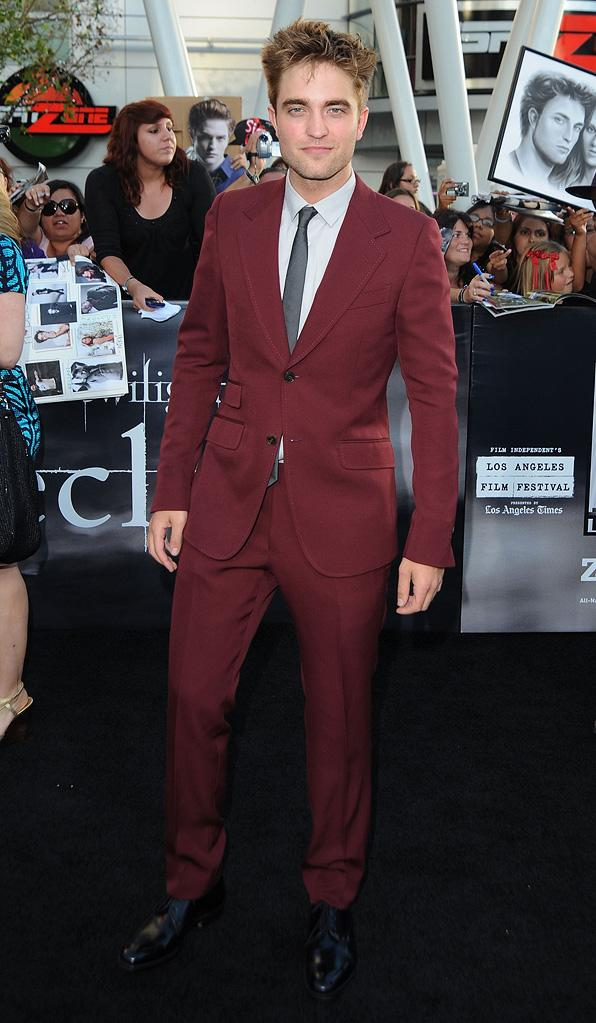 The Twilight Saga Eclipse LA Premiere 2010 Robert Pattinson
