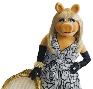 Miss Piggy shares her fashion and beauty tips. Photo courtesy of Disney