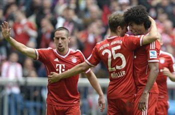 Bayern Munich 3-0 Augsburg: Resounding win for die Roten in Heynckes' final home game