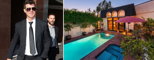 Robin Thicke sells wedding-gift L.A. house