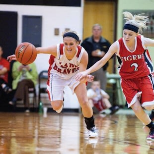 Borden star Shelby Kirchgessner and her teammates forced 40 turnovers — Joe Ullrich/News & Tribune