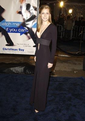 Premiere:  Amy Adams at the Hollywood premiere of Dreamworks' Catch Me If You Can - 12/16/2002