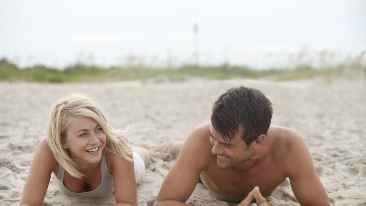 "This film image released by Relativity Media shows Julianne Hough, left, and Josh Duhamel in a scene from ""Safe Haven."" (AP Photo/Relativity Media, James Bridges)"