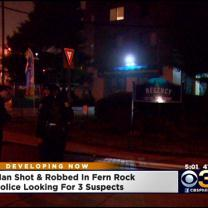Man Shot And Robbed In Fern Rock