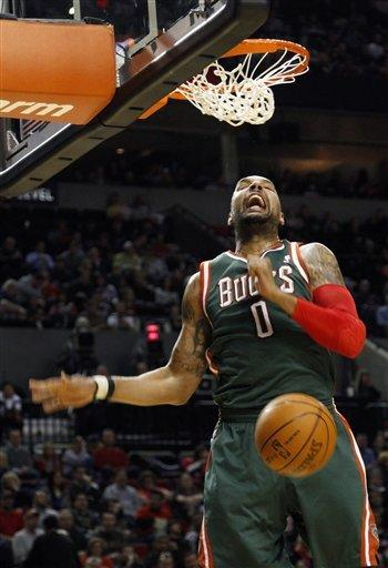 Gooden leads Bucks past Blazers, 116-87