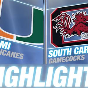 Miami vs South Carolina | 2014 ACC Football Highlights