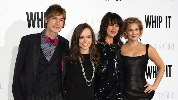 Whip It LA Premiere 2009 Landon Pigg Ellen Page Juliette Lewis Drew Barrymore
