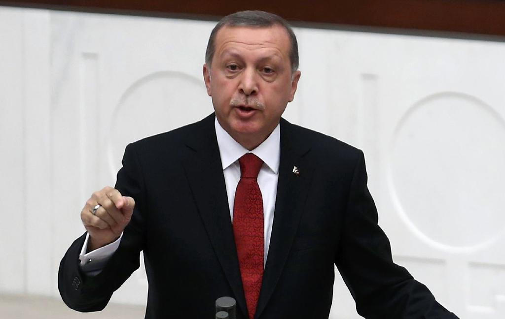 Erdogan urges Putin to change mind over Syria bombing