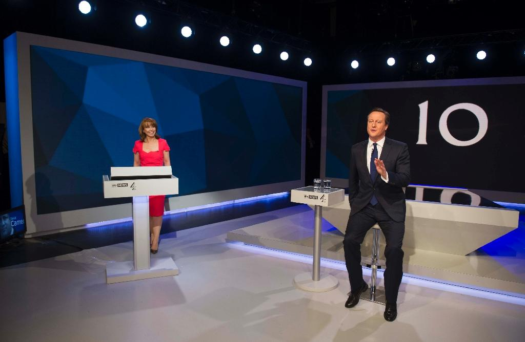Cameron, Miliband open election campaign with TV grilling