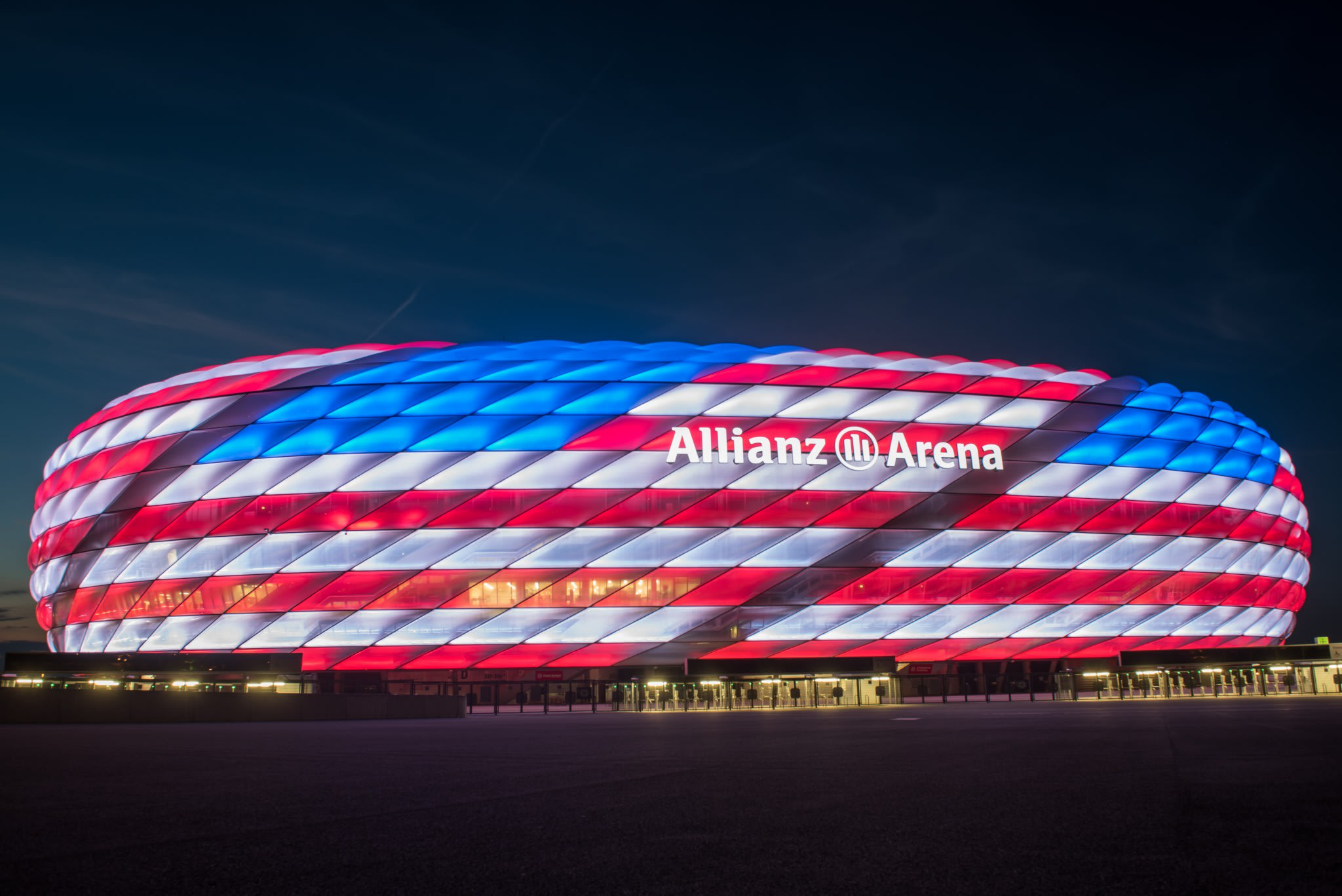 Bayern Munich celebrated the Fourth of July in a very special way