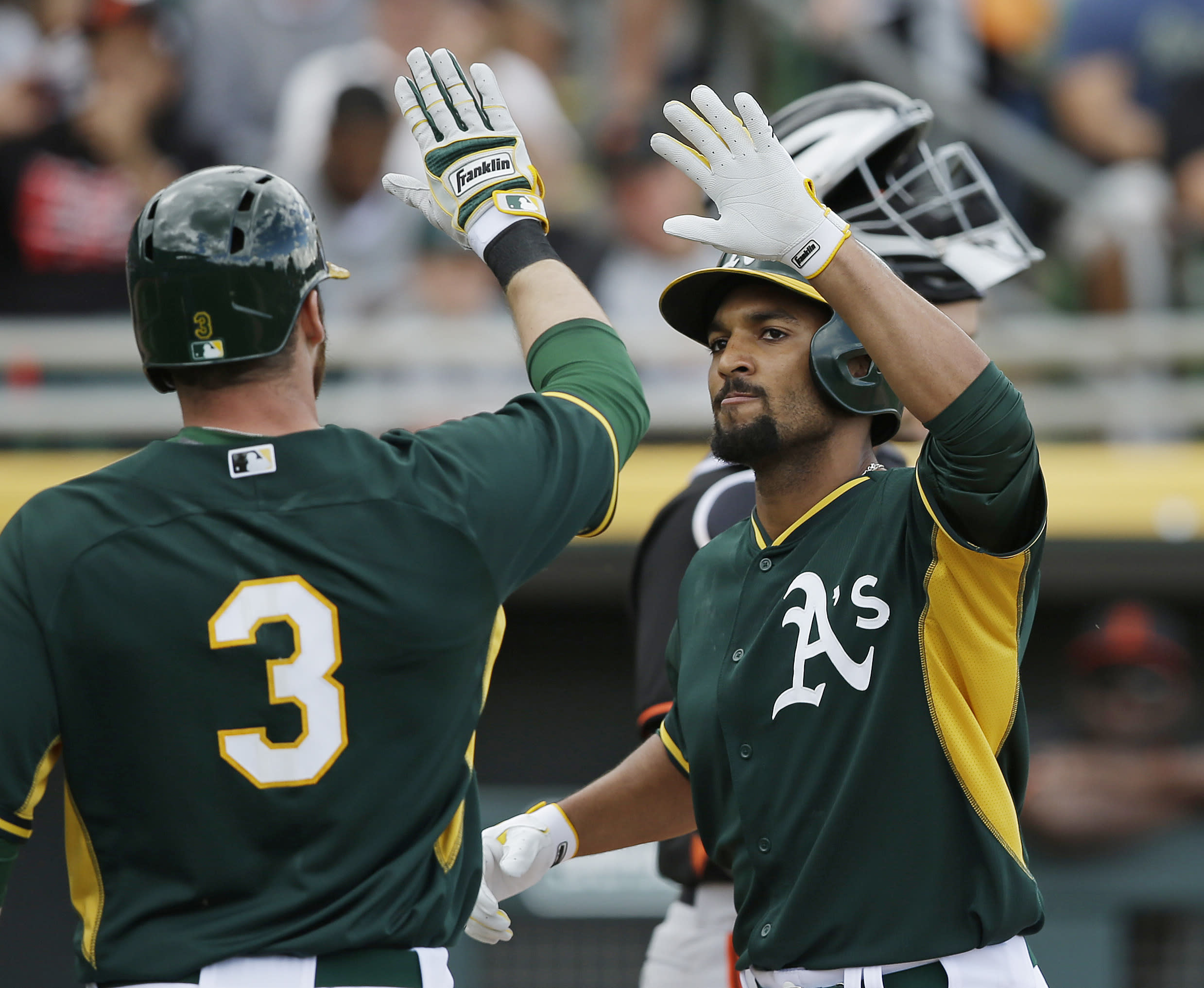 Marcus Semien has five hits, seven RBIs though two spring games
