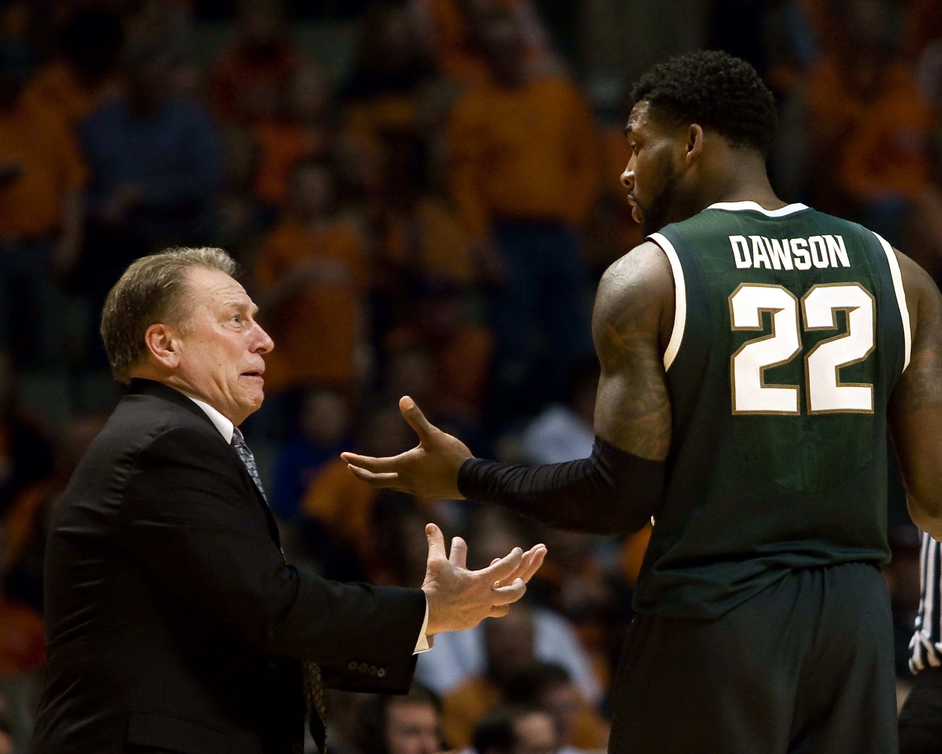Michigan State pays for fouling on a three instead of fouling up three