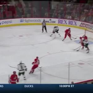 Anton Khudobin Save on Matt Dumba (06:53/1st)