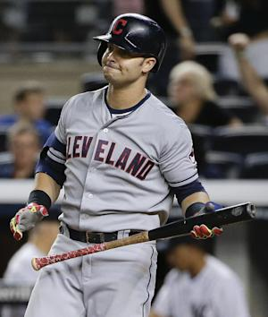 Indians put OF Murphy, DH-1B Swisher on 15-day DL