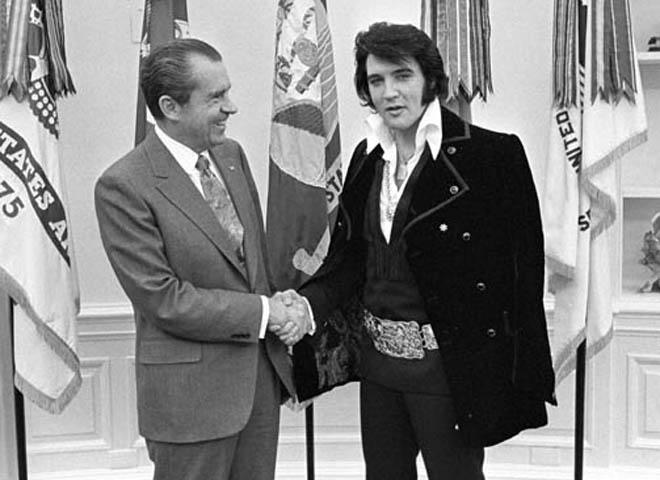 ​Almanac: When Nixon met Elvis