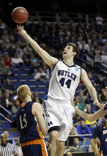 Smith's double-double leads Butler to 68-56 win