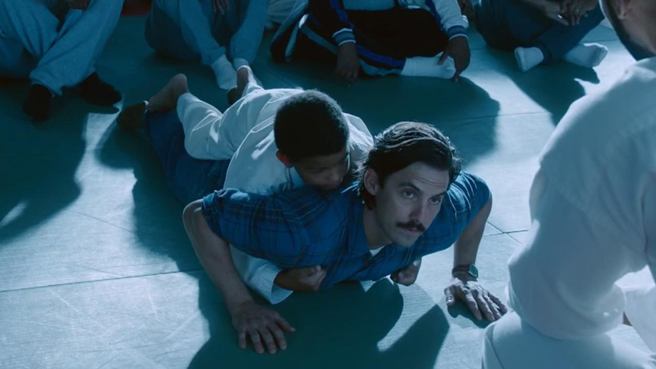 The Men of 'This Is Us' Continue to Tug at Our Heartstrings by Doing Pushups With Each Other on Their Backs