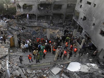 Medics: Israel strike kills 11 civilians in Gaza