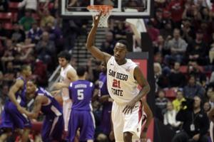 Franklin, No. 17 Aztecs beat TCU 83-73