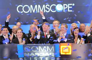 CommScope Marks IPO, First Trading at NASDAQ Ceremony