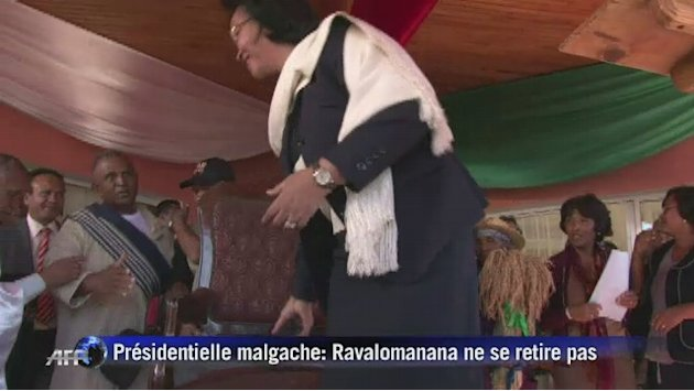Prsidentielle malgache: Lalao Ravalomanana ne se retire pas