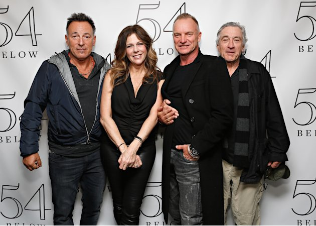 Robert De Niro, Bruce Springsteen, And Sting Attend Rita Wilson's Performance At 54 Below