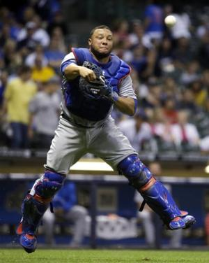 Feldman, Rizzo lead Cubs to 5-4 win over Brewers