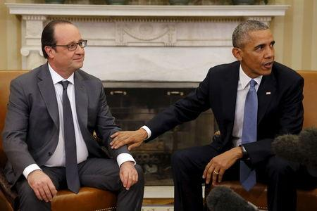 U.S., France agree to scale up fight against Islamic State